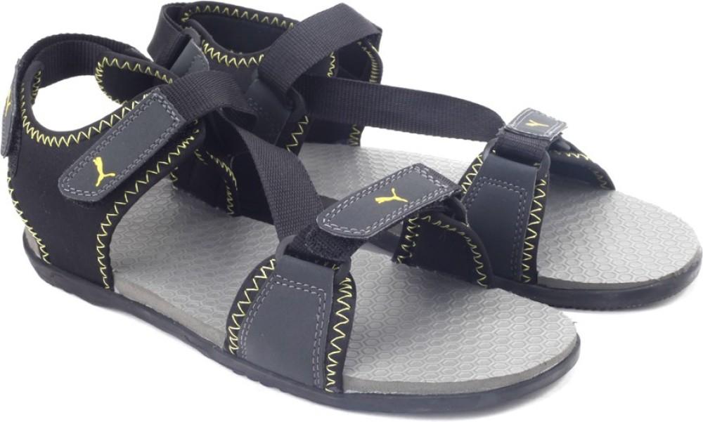 Puma Royal DP Men Black Sandals Black
