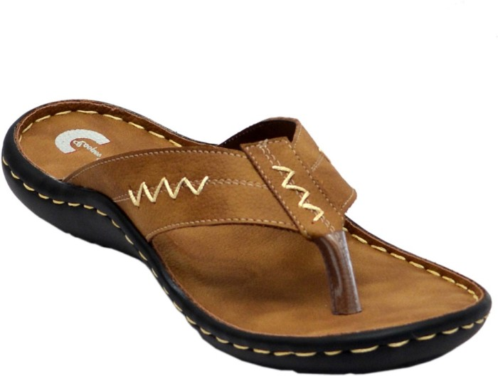 Cooper England Tan Leather Sandals