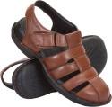 Cythos Moonwalk-422-B Leather Sandals