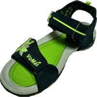 VoMax Men Navy, Green Sandals Navy, Green