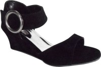 Pam My Shoe Women Black Wedges Black