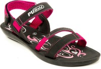 ASIAN Women Black, Pink Flats Black, Pink
