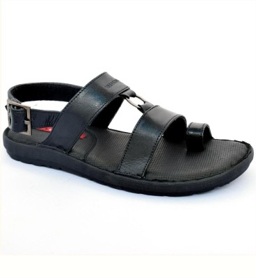Valentino Valentino Leather Sandals (Black)