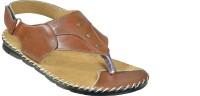Mr. Polo Men Brown Sandals Brown