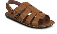 Get Glamr Men Brown Sandals Brown
