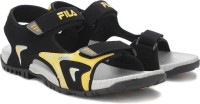Fila Men Black Sports Sandals Black