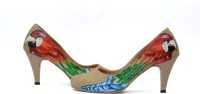 Wearmates The Parrot Design Heels