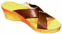 BellaToes Leather Casual Office And Party Wear Wedge Wedges - SNDEYCFATRG8NCT9