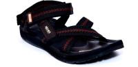 Richer RR-235-Blk-Red Men Black, Red Sandals Black, Red