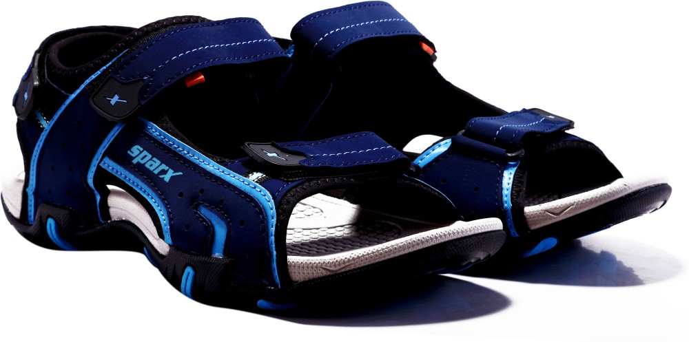 Sparx Men Navy Blue Sandals Navy Blue