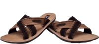 Enzo Cardini Men Brown Sandals Brown