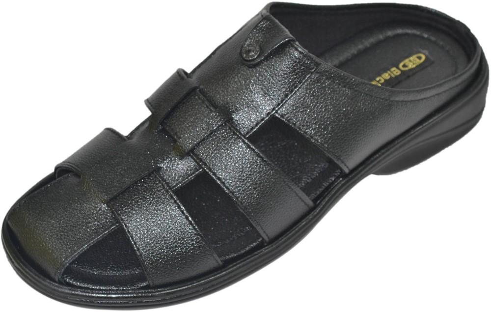 Black Sands Formal Men Sandals