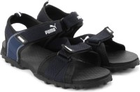 Puma Rio Men Black, Blue Sports Sandals Black, Blue