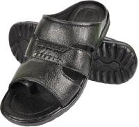 Nonch Le Comfortable Black Leather Sandals