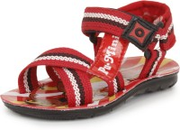 Pu-Mini ST*R Boys Red Sandals Red