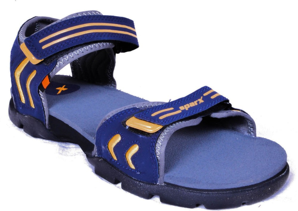 Sparx Men Blue Grey Sandals Blue Grey