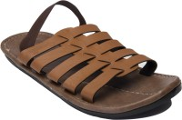 Guardian 5-strap Style Leather Sandals