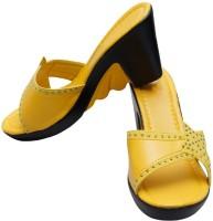 Gadget Women Yellow Wedges Yellow
