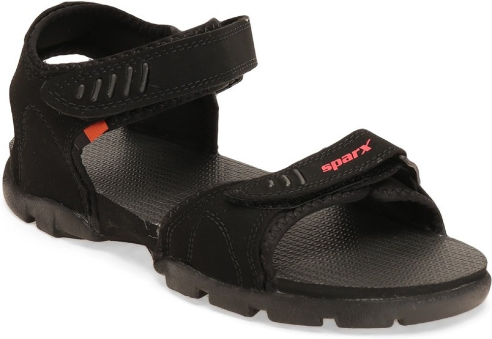 Sparx Men Black Sandals Black SNDEEZDP9D5D7KNZ