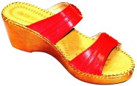 BellaToes Leather Casual Office And Party Wear Wedge Wedges - SNDEYCFAGCAFHUHN