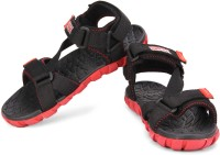 Bata F1 Men Red, Black Sandals Red, Black