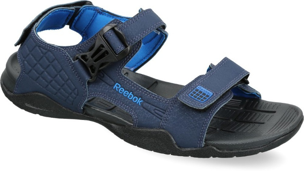 Reebok ADVENTURE Z SUPREME Men Black Navy Sports Sandals Black Navy