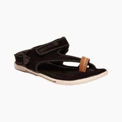 Bacca Bucci Climbers Black Men's Sandals Leather Sandals