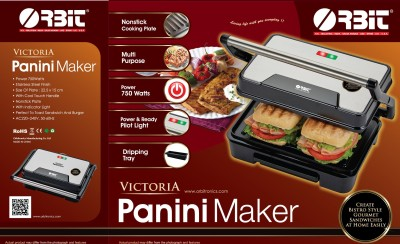 Orbit Victoria Panini Grill Maker