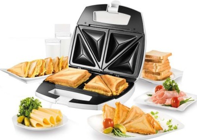 Nova NSM 2412 2 Slice Sandwich Maker Toast (White)