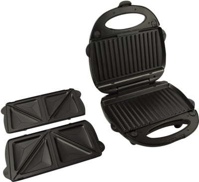 Skyline VI-888 Grill, Toast, Open Grill (Black & Silver)