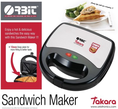 Orbit Takara 2 Slice Sandwich Maker