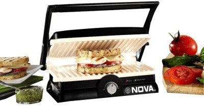 Nova 3 in 1 Panini Grill Press Sandwich Maker