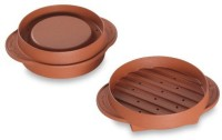 Nordic Ware 365 Indoor/Outdoor Stuffed Burger Maker And Patty Press Grill (Brown)