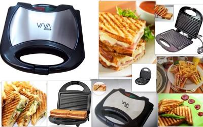 Viva Smart Grill Grill (Sliver, Black)