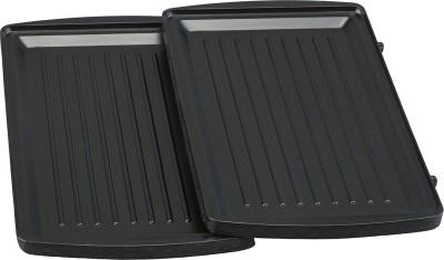 Afinito Electric Grill, Toast (Black, Silver)