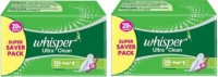 Whisper Ultra Clean Sanitary Pad (Pack Of 2) - SPPEA58NFPXGU7UG