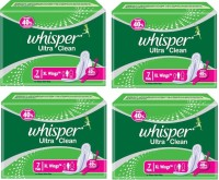 Whisper Ultra Clean Sanitary Pad (Pack Of 7)