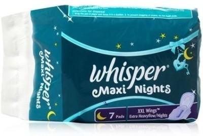 Whisper Maxi Nights Xxl Wings Pantyliner Buy Women Hygiene Products Online In India Flipkart Com