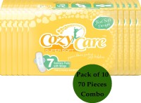 Cozy Care Feel Soft Super Soft Design Pack Of 10 Sanitary Pad (Pack Of 10)