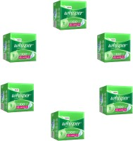 Whisper Ultra Clean XL-Wings(15pads) Sanitary Pad (Pack Of 6)