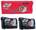 Sofy Side Walls Bodyfit Xl Day And Xxxl Night Sanitary Pad - Pack Of 18