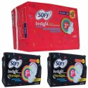 Sofy Side Walls Body Fit Xl Day And Xxl Night Sanitary Pad - Pack Of 38