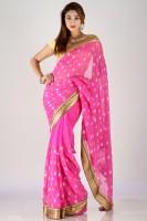 Bhavish Printed Georgette, Chiffon Sari