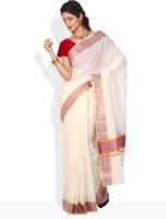 Ennthra Checkered Cotton Sari
