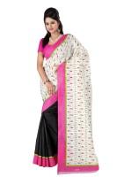 Kajal Sarees Printed Embellished Georgette Sari