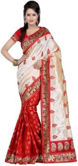 Sonakshi Sarees Printed Chanderi Silk Sari