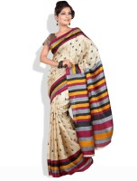Shreejee Striped Cotton Sari