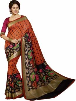 Nityagata Printed Mysore Art Silk Sari