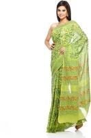 Aapno Rajasthan Floral Print Cotton Sari - SARDVX3Y3SYAF5KD
