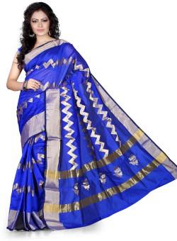 Asavari Embellished Banarasi Banarasi Silk, Art Silk Sari